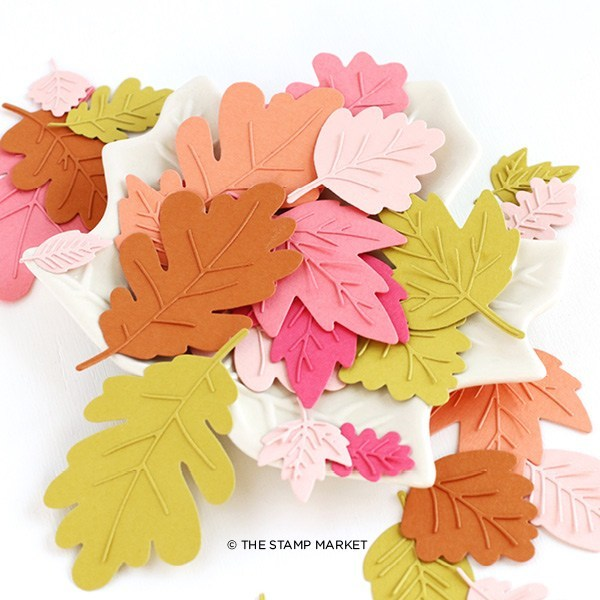 The Stamp Market セット♪ - Autumn Leaves