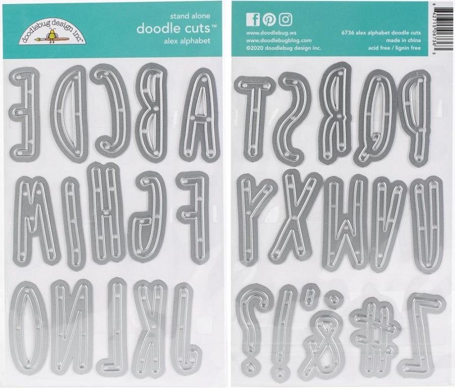Doodlebug Die - 6736 Alex Alphabet