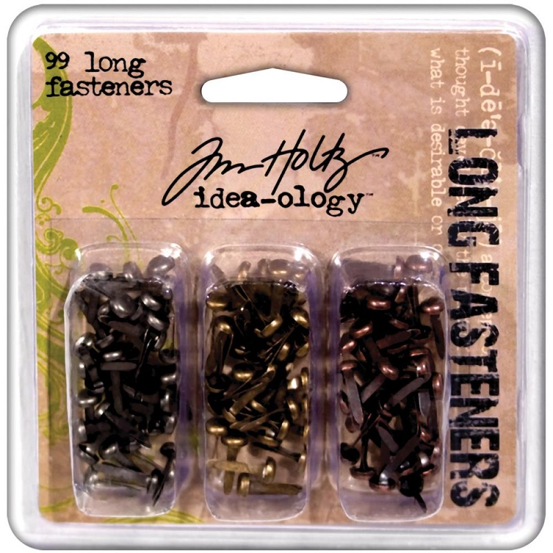Tim Holtz  Idea-Ology - TH92703 Metal Long Paper Fasteners
