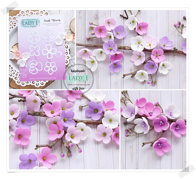 Lady E Design Dies - Small Flowers