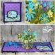 Karen Burniston Die - 1010 Flower Pot Pop-Up
