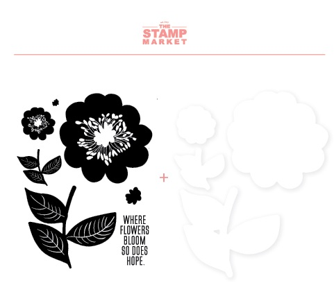 The Stamp Market セット♪ - Bloom with Hope
