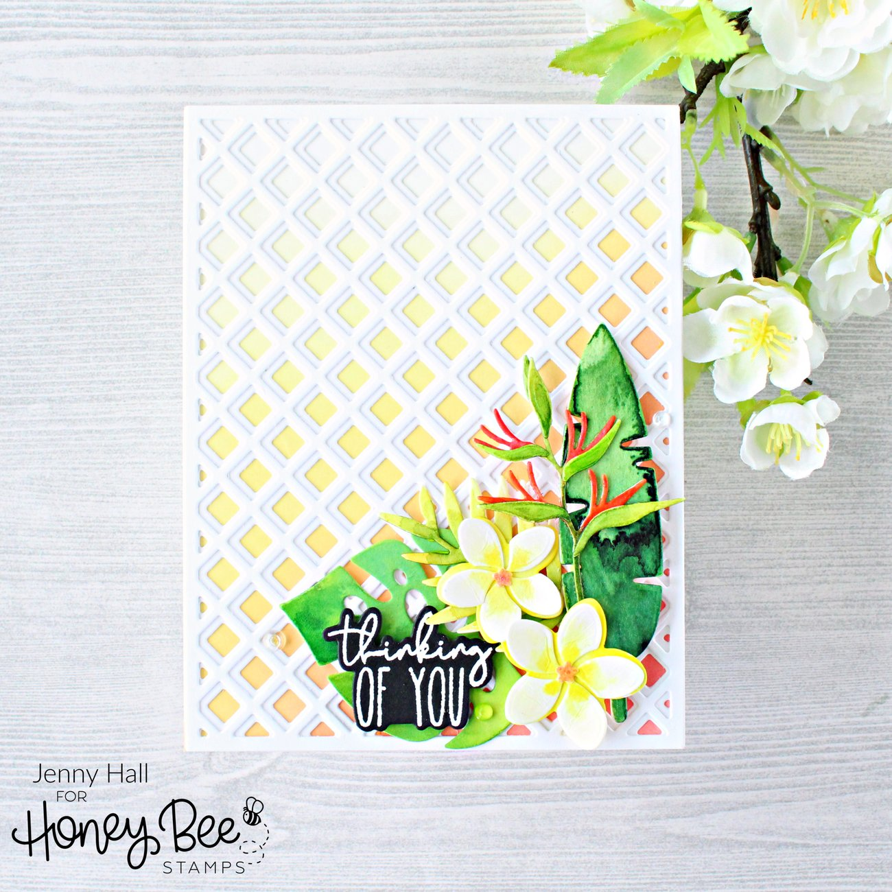 Honey Bee Stamps Honey Cuts - Tropical Bouquets