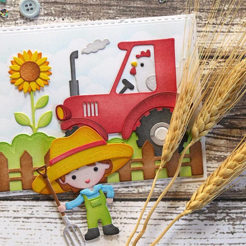 Elizabeth Craft Die - EC1859 Farmer