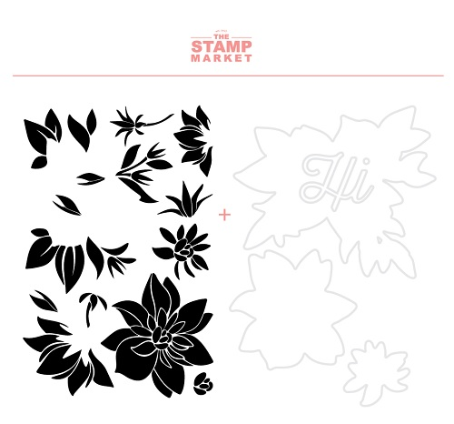 The Stamp Market セット♪ - Bloomed