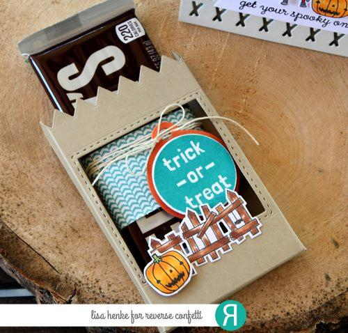 Reverse Confetti Clear Stamp - Boo Yea