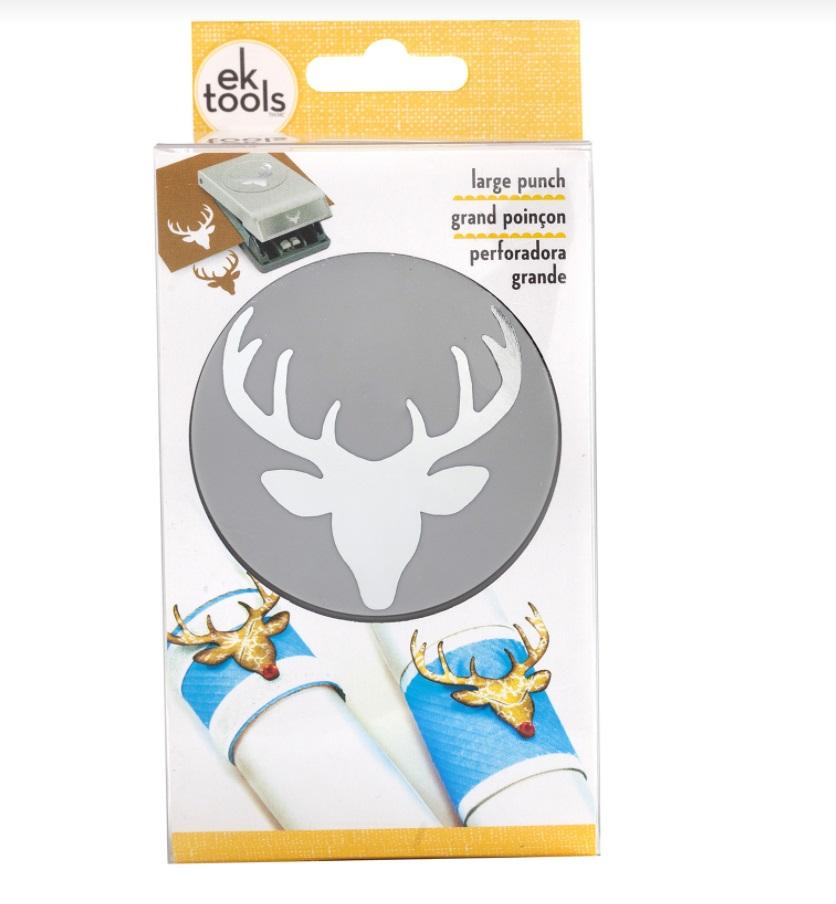 EK Success - 54-30220 Large Punch Deer Head