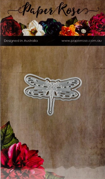 Paper Rose Dies - 16993 Dragonfly Small