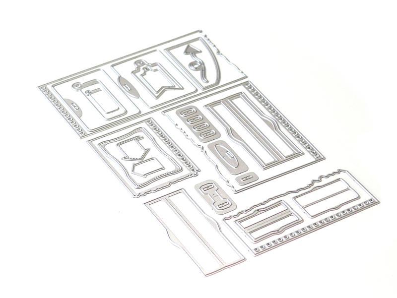 Elizabeth Craft Die - EC1739 Planner Essentials 21 - Note Pieces