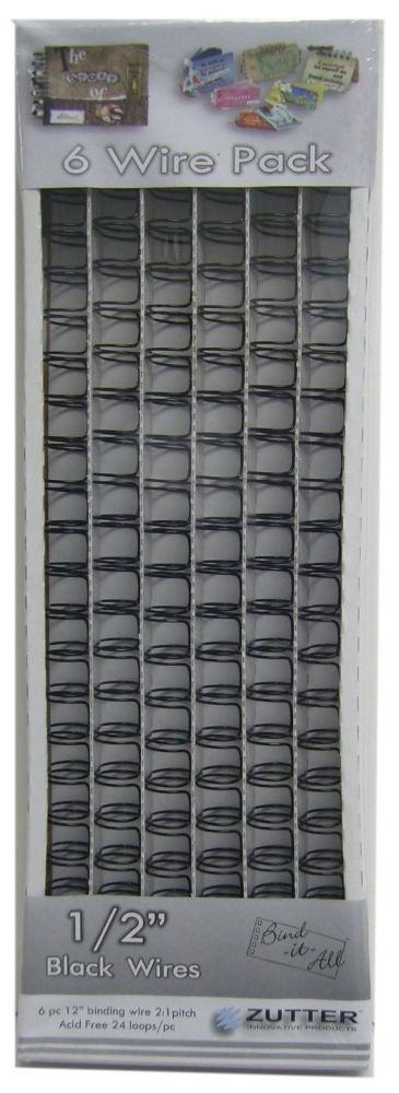 Zutter Owire 1/2(0.5)inch - 2651 Black