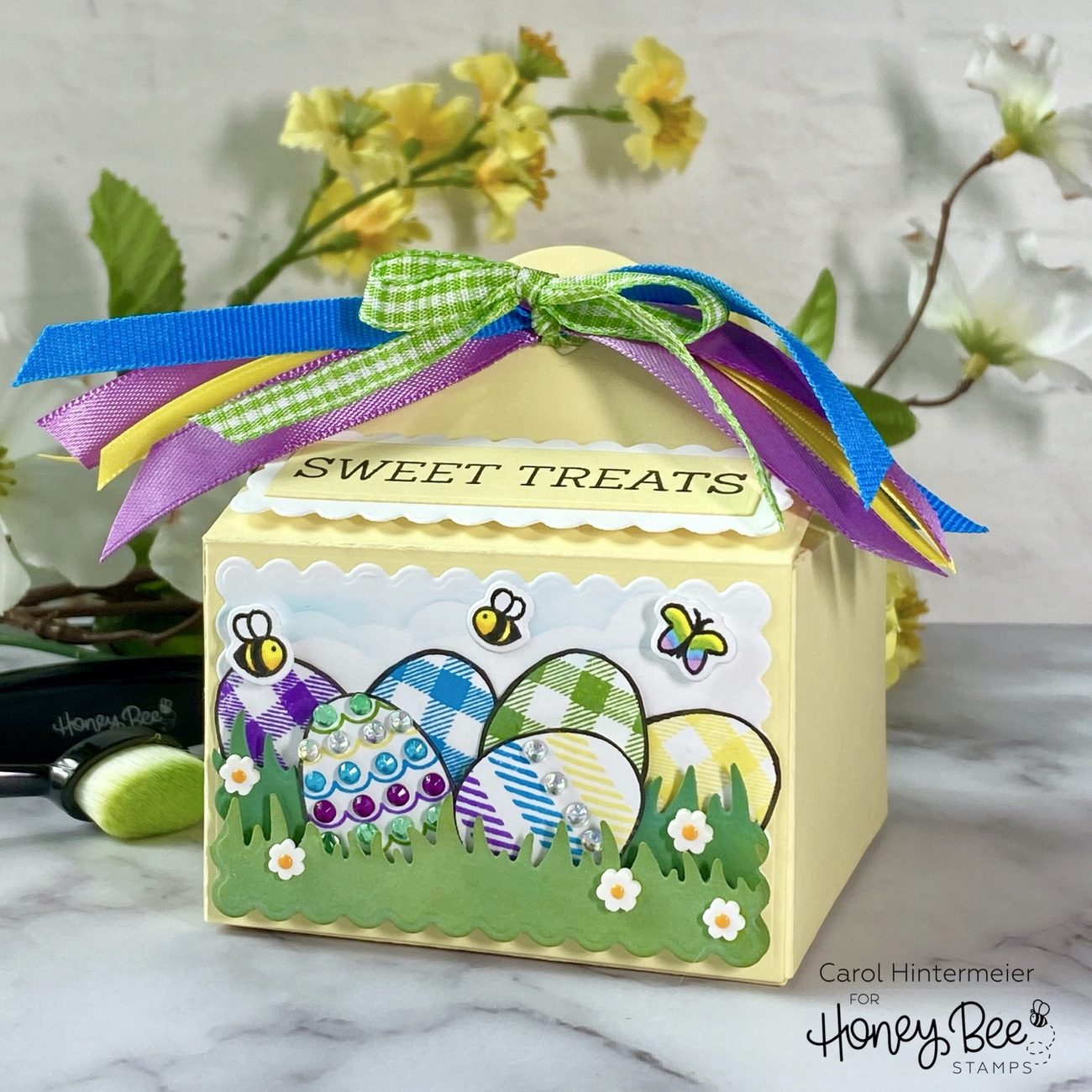Honey Bee Stamps Honey Cuts - Sweet Treat Box