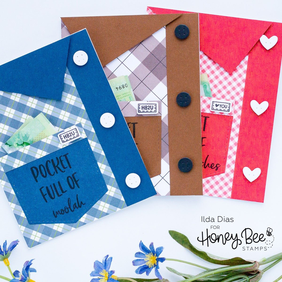 Honey Bee Stamps Honey Cuts - Stacking Pockets