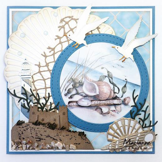 Marianne Design Craftables - CR1411 XL Seashell