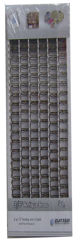 Zutter Owire 3/8(0.375)inch - 2773 Antique Brass