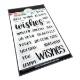 Catherine Pooler Clear Stamp - CPS1069 All Around Wishes Sentiments