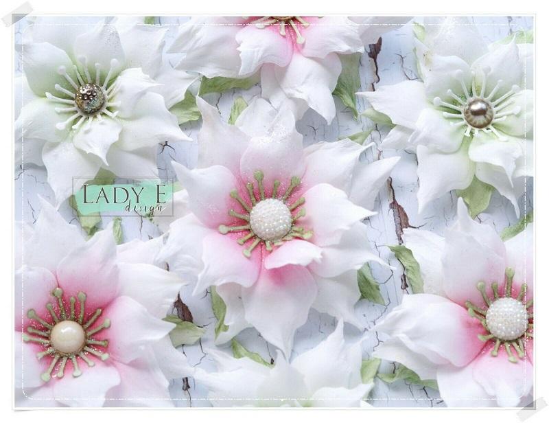 Lady E Design Dies - Poinsettia