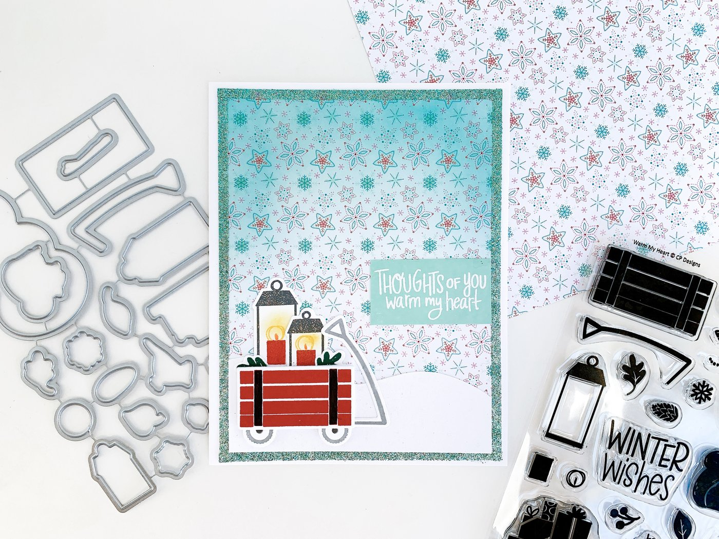 Catherine Pooler Clear Stamp - CPS1114 Warm My Heart