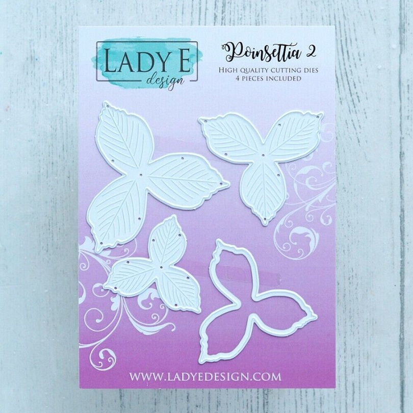 Lady E Design Dies - Poinsettia 2