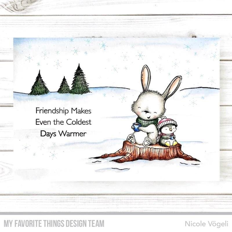 Die-namics - MFT-1875+SY-26 SY Frost-Loving Friends スタンプ&ダイセット♪