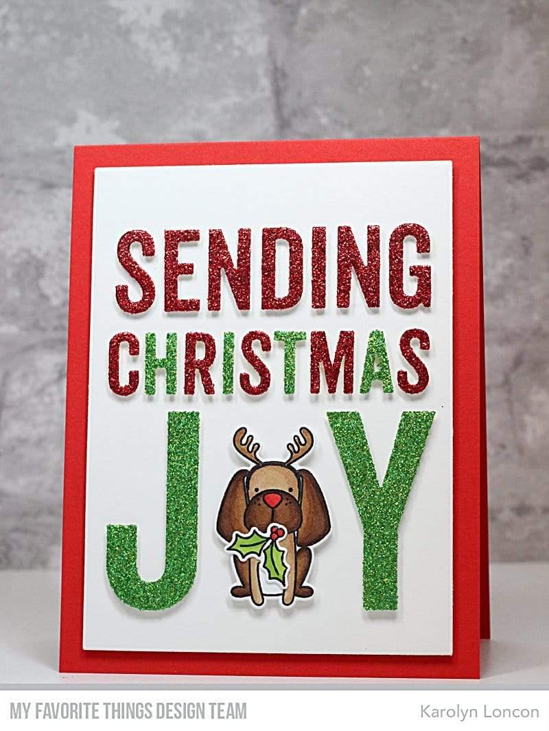 Die-namics - MFT-1831 Sending Christmas Joy