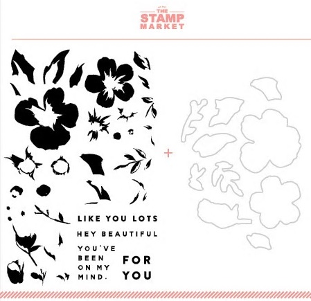 The Stamp Market セット♪ - Beautiful Blooms
