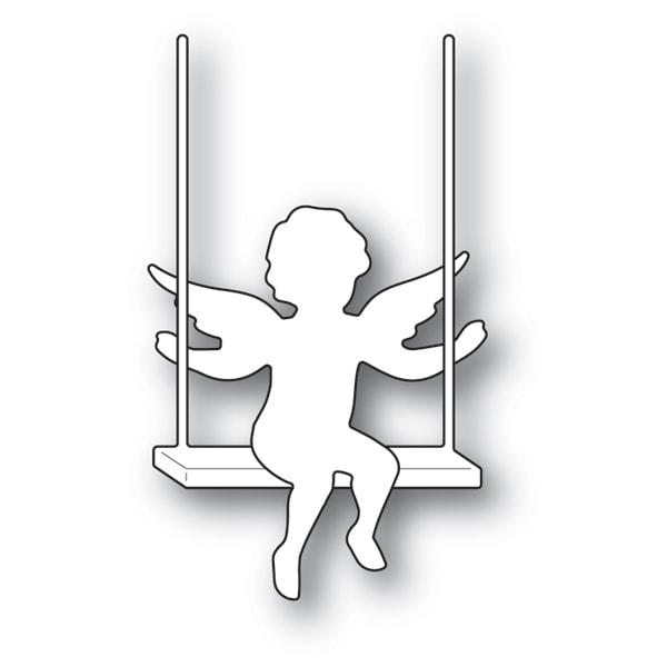 Memory Box Die  -  94103 Cupid with Swing