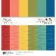 Simple Stories Color Vibe Paper Pack 12×12 - 13414 Bold