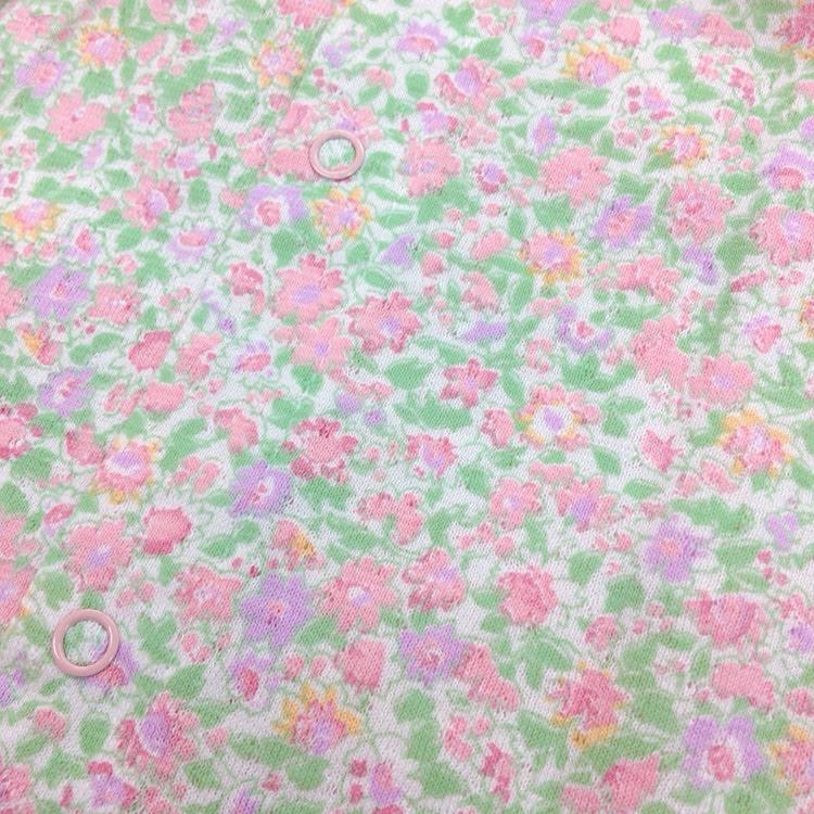 袖なしフラワーショートオール(春夏)  T4022