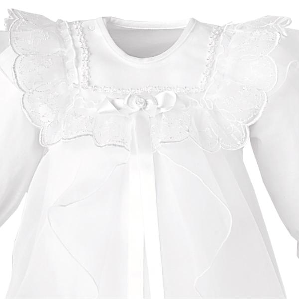 フード付セレモニードレス(ホワイト/春夏) T4004