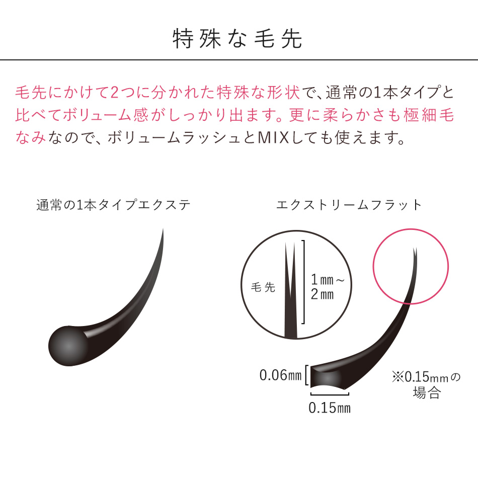 Extreme FLAT カーキブラウン(12列) 0.15mm 【メール便可】