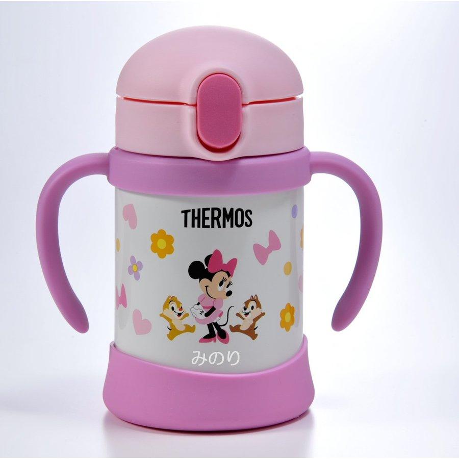 名入れ ディズニー サーモス ベビーストローマグ水筒