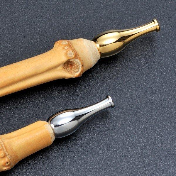 名入れ 小粋 パイプ 竹キセル12.3cm