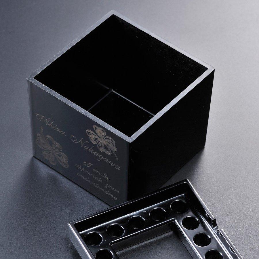 名入れ 煙の出ない ノンレットスクウェア灰皿