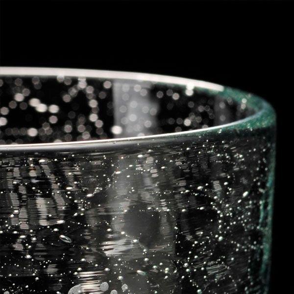 名入れ バリ硝子 アイスコーヒーグラス 単品