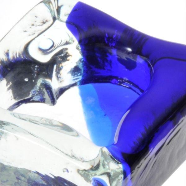 名入れ 琉球ガラス ハート抜き灰皿