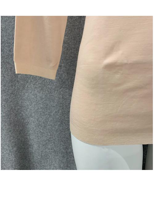 SOFT&FITウールヘム 七分袖全2色