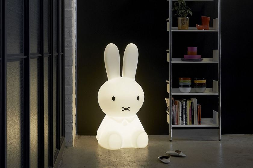【送料無料】ミッフィー ランプ XL (MM-001) MIFFY  LAMP XLサイズ Miffy Lamp ミッフィーライト ミッフィライト LED ライト LED 照明 Mr.Maria ミスターマリア インテリア グッズ プレゼント かわいい おしゃれ【MCS】