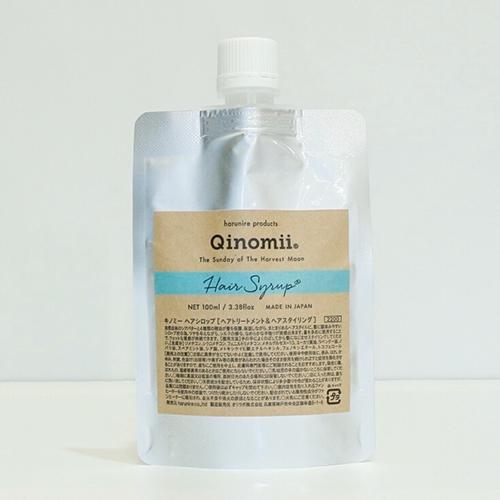 Qinomii Hair Syrup キノミー ヘアシロップ 100ml | シロップ スタイリング剤 髪 保湿 保護 精油 ヘアー 艶 ツヤ キノミ ヘアオイル Qinomii ヘアシロップ 100ml kiito サロン専売品