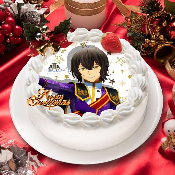 「KING OF PRISM -Shiny Seven Stars-」神浜 コウジ キャラクターケーキ5号【お届け指定日入力必須 2ヶ月先までご予約可能】【バースデーやクリスマスなどにご利用ください】