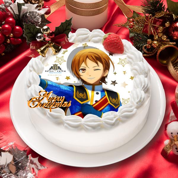 「KING OF PRISM -Shiny Seven Stars-」速水 ヒロ キャラクターケーキ5号【お届け指定日入力必須 2ヶ月先までご予約可能】【バースデーやクリスマスなどにご利用ください】