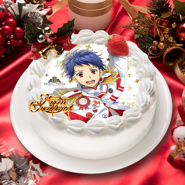 「KING OF PRISM -Shiny Seven Stars-」一条 シン キャラクターケーキ5号【お届け指定日入力必須 2ヶ月先までご予約可能】【バースデーやクリスマスなどにご利用ください】