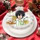 「KING OF PRISM -Shiny Seven Stars-」香賀美 タイガ キャラクターケーキ5号【お届け指定日入力必須 2ヶ月先までご予約可能】【バースデーやクリスマスなどにご利用ください】