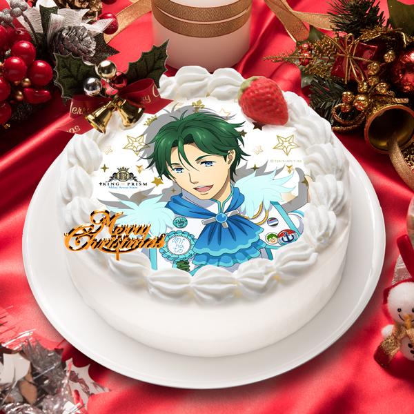 「KING OF PRISM -Shiny Seven Stars-」鷹梁 ミナト キャラクターケーキ5号【お届け指定日入力必須 2ヶ月先までご予約可能】【バースデーやクリスマスなどにご利用ください】