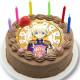 「プリティーシリーズ10周年」WITH ショウゴ キャラクターケーキ5号【バレンタイン】【チョコレートケーキ】