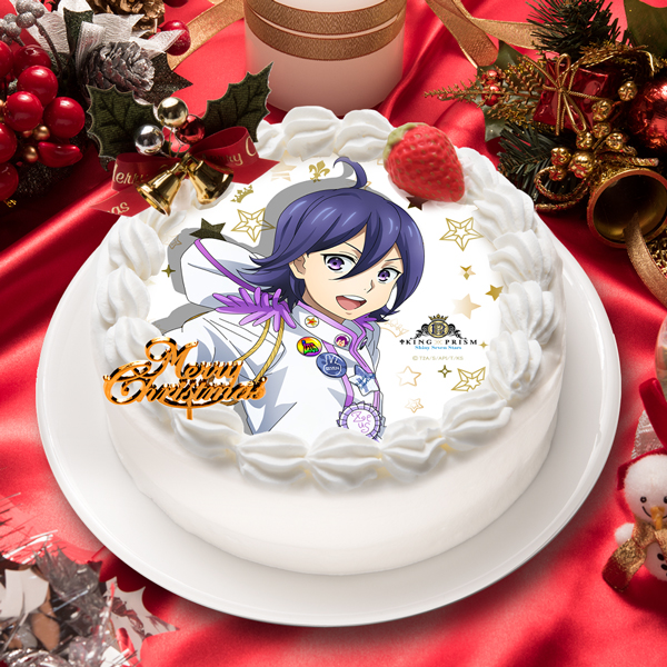 「KING OF PRISM -Shiny Seven Stars-」涼野 ユウ キャラクターケーキ5号【お届け指定日入力必須 2ヶ月先までご予約可能】【バースデーやクリスマスなどにご利用ください】