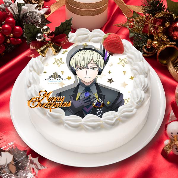 「KING OF PRISM -Shiny Seven Stars-」如月 ルヰ キャラクターケーキ5号【お届け指定日入力必須 2ヶ月先までご予約可能】【バースデーやクリスマスなどにご利用ください】