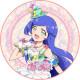 「キラッとプリ☆チャン」青葉りんか キャラクターケーキ5号【バレンタイン】【チョコレートケーキ】