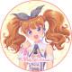 「プリティーオールフレンズ Prizmmy☆」深山れいな キャラクターケーキ5号【バレンタイン】【チョコレートケーキ】