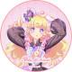 「プリティーオールフレンズ MY☆DREAM」夢川ゆい キャラクターケーキ5号【バレンタイン】【チョコレートケーキ】