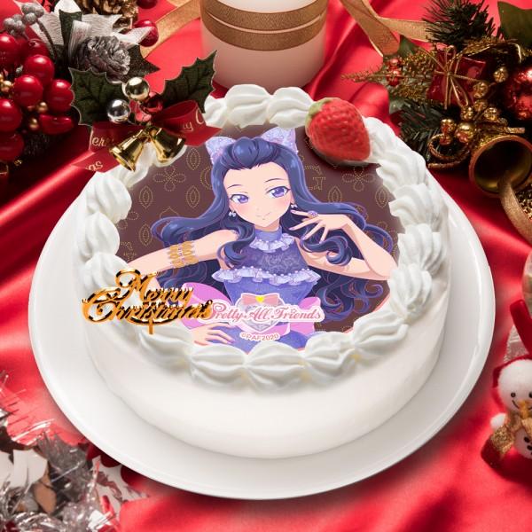 「プリティーオールフレンズ ゴージャスセレブリティ」チェギョン キャラクターケーキ5号